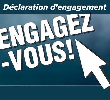 Déclaration d'engagement - Avant de craquer