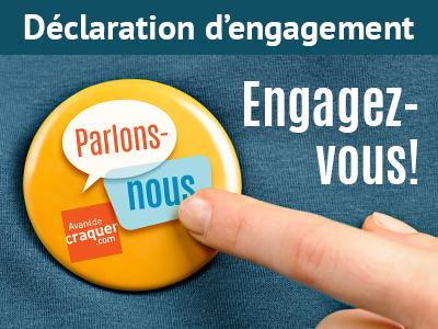 Déclaration d'engagement