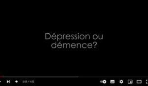 Démence ou dépression?